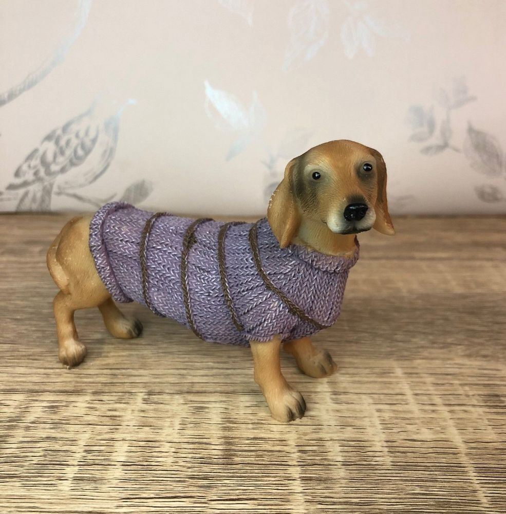Daschund in Jumper Dog Ornament